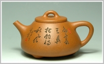 江峰紫砂壶 子冶石瓢  - 美壶网