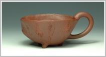 精品杯紫砂壶 全手花塑品茗杯 精品 原矿清水泥 - 美壶网