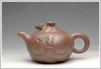 美壶定制紫砂壶 窑变之美 鱼化龙 老段泥 - 美壶网