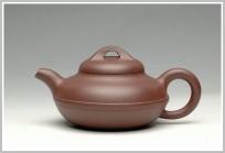 曲峰紫砂壶 功夫茶必备实用佳品2 小线圆130cc 原矿紫泥 - 美壶网