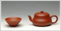 蒋小琴紫砂壶 砂质迷人 实用佳品  全手矮君德 原矿朱泥 - 美壶网