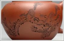 钱伟刚紫砂壶 栩栩如生 松鼠之趣 气韵灵动 福缘 原矿清水泥 - 美壶网