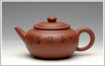 钱伟刚紫砂壶 实用佳品 杀茶利器-线韵 原矿清水泥 - 美壶网