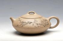王余平紫砂壶 老段泥 饱满可爱 合欢 实用佳器 原矿段泥 - 美壶网