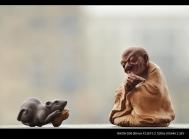美壶定制紫砂壶 精品学院派 问禅 手工雕塑 优质紫砂料子 仅1件 原矿段泥 - 美壶网