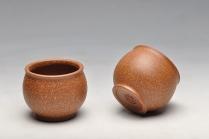 美壶定制紫砂壶 几个好料杯子新品 老段泥,粗砂紫泥  - 美壶网