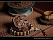 刘景紫砂壶 《心心相莲》第三代作品——枯莲蓬茶宠 段泥 原矿段泥 - 美壶网