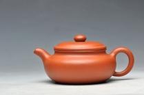 谭华斌紫砂壶 型正味足 经典传统 小仿古 原矿红泥 - 美壶网