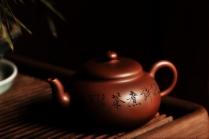 张云熙紫砂壶 曲线优美 古朴静雅 半月壶 原矿清水泥 - 美壶网