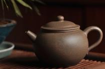 万阗阗紫砂壶 拙朴古雅 传统耐品 杀茶利器 全手拙古 原矿段泥 - 美壶网