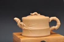 史云棠紫砂壶 经典代表作 大竹段 原矿段泥 - 美壶网