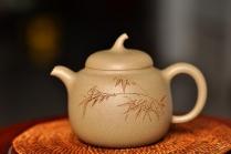 钱伟刚紫砂壶 传统经典 景舟茄段 原矿段泥 - 美壶网
