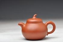 何卫枫紫砂壶 优质降坡泥 饱满可爱  全手茄段 实用精品 原矿降坡泥 - 美壶网