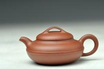 谭华斌紫砂壶 优质青水泥 线圆 传统实用 经典小品 原矿清水泥 - 美壶网