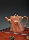 单志萍紫砂壶 单志萍最新作品 全手松福 造型更加经典俊秀  原矿底槽清 - 美壶网