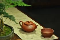 张云熙紫砂壶 文气佳作 线条优美 富有逸趣 值得雅藏 红泥合欢 原矿红泥 - 美壶网