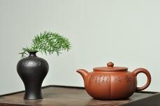紫砂壶图片:钱伟刚最新作品 饱满 器形端庄 素心 - 美壶网