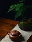 陈进紫砂壶 优质降坡泥 颇有玩味~ 全手浮雕仿古 器形端庄 原矿降坡泥 - 美壶网