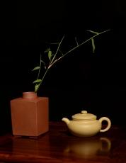 紫砂壶图片:诱人o(∩_∩)o 黄龙山本山段泥 全手小仿古 传统精品 素雅 - 美壶网