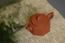 紫砂壶图片:美壶特惠 唐文新作 稳重大气   全手八方柱础 - 美壶网