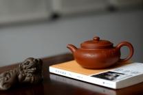 张云熙紫砂壶 饮者寿 传统经典 仿古 范曾之味~ 原矿红泥 - 美壶网