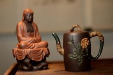 紫砂壶图片:那些花儿之月季花~ 精品重器 大美无言o(∩_∩)o  - 美壶网