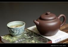 紫砂壶图片:美壶特惠 优质紫泥 厚重古朴 全手明式摹古 - 美壶网