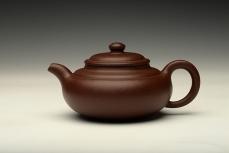 紫砂壶图片:线条优美 饱满精致 全手想泉 传统经典 - 美壶网
