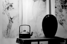紫砂壶图片:方圆堂许嘉年实力之作 全手工大赛作品 全手智竹提梁 方圆花器结合 - 美壶网