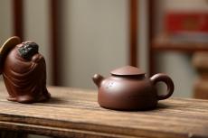 紫砂壶图片:夏日品饮之乐 茶无道不明 悟道小壶 - 美壶网