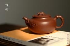 紫砂壶图片:大口实用 憨厚可人 全手竹趣 创意花货 - 美壶网