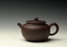 紫砂壶图片:温文尔雅 素雅精致 全手铺砂明华 - 美壶网