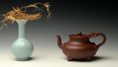 紫砂壶图片:呕心力作 精品精心 全手螭龙 雍容华贵 - 美壶网