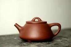 紫砂壶图片:美壶双节特惠之平盖石瓢 超级实用品 - 美壶网