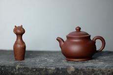 紫砂壶图片:美壶特惠 优质黄龙山底槽青 大蕴潘壶 出水如柱~ 经典实用 - 美壶网