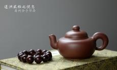 紫砂壶图片:道洪风格之全手悦志 温润如玉 蒋柯作品 饱满可人 - 美壶网