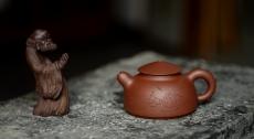 紫砂壶图片:品饮之乐 茶无道不明 悟道小壶 - 美壶网