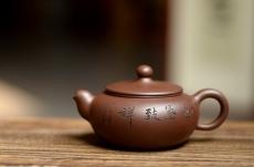 紫砂壶图片:精工实用 鸿运当头 - 美壶网