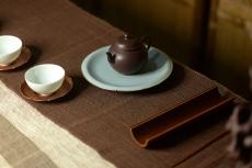 紫砂壶图片:龚涛平新作 薄胎英才 温文尔雅 全手和月 - 美壶网