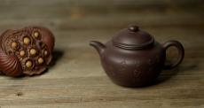 紫砂壶图片:鸿渝山房摹古之留佩莲子 娇小可人 美壶特惠 - 美壶网