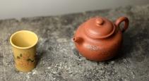 朱牧清紫砂壶 传统实用 山水莲子 优质降坡泥 原矿降坡泥 - 美壶网