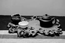 美壶定制紫砂壶 学院派风格~非常好玩的作品~ 全手工太湖石干泡台 原矿段泥 - 美壶网