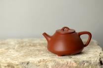 徐亚春紫砂壶 难度略大 传统实用 全手朱泥石瓢 原矿朱泥 - 美壶网