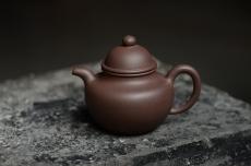 紫砂壶图片:美壶特惠 原矿紫泥 传统经典 寿珍掇球 - 美壶网