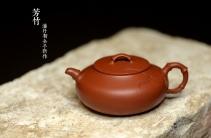 潘丹初紫砂壶 潘丹初新作  美人如竹  全手芳竹  成品不易仅此一件不接受定做 原矿红泥 - 美壶网