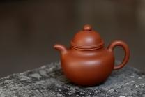 泓渝山房紫砂壶 美壶特惠 优质红皮龙 传统经典 寿珍掇球 红皮龙 - 美壶网