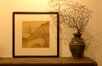 张听钢紫砂壶 张听刚新意装饰 山水壁画 韵味十足 原矿段泥 - 美壶网