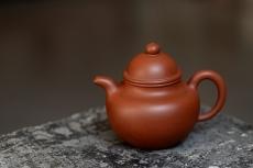 紫砂壶图片:美壶特惠 优质红皮龙 传统经典 寿珍掇球 - 美壶网