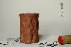紫砂壶图片:美壶特惠 全手制作 数量有限~ 冬日暖心一手杯  - 美壶网