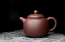 紫砂壶图片:美壶特惠 优质黄龙山紫泥 匏尊 茶人最爱器形 饱满大气 - 美壶网